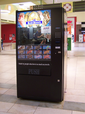 Jacks Ice Cream Vending Machines
